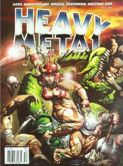 Cover for Heavy Metal Special Editions (Metal Mammoth, Inc., 1992 series) #v21#3 - 30th Anniversay Special