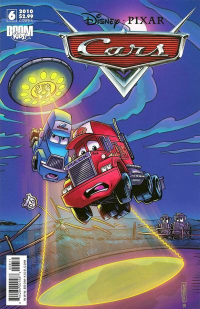 Cover for Cars (Boom! Studios, 2009 series) #6
