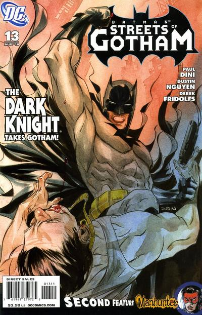 Cover for Batman: Streets of Gotham (DC, 2009 series) #13