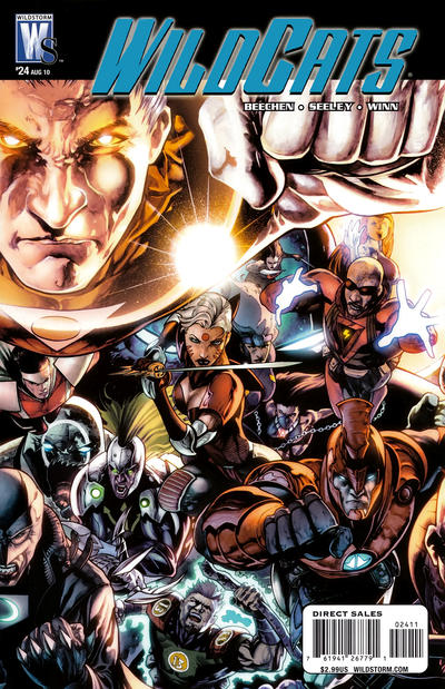 Cover for Wildcats (DC, 2008 series) #24