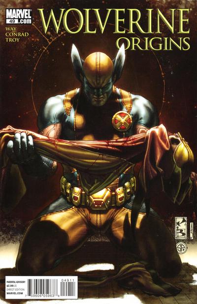 Cover for Wolverine: Origins (Marvel, 2006 series) #49