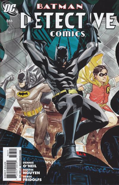 Cover for Detective Comics (DC, 1937 series) #866 [Standard Cover]
