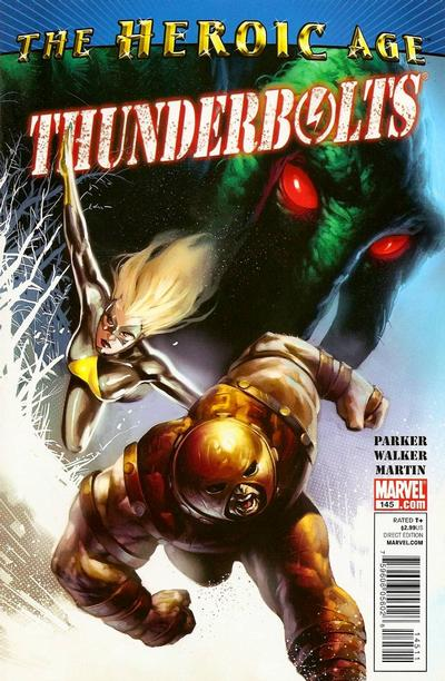 Cover for Thunderbolts (Marvel, 2006 series) #145