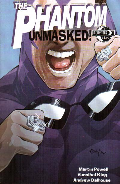 Cover for The Phantom Unmasked (Moonstone, 2010 series) #1 [Cover B]