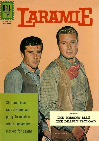 Cover for Four Color (Dell, 1942 series) #1223 - Laramie