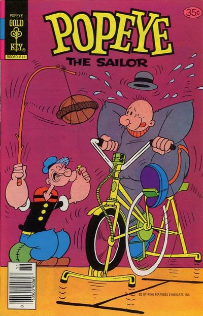 Cover for Popeye the Sailor (Western, 1978 series) #142 [Gold Key]