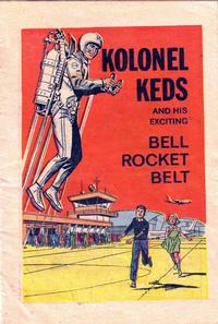 Cover Thumbnail for Kolonel Keds and His Exciting Bell Rocket Belt (United States Rubber Co., 1965 series)