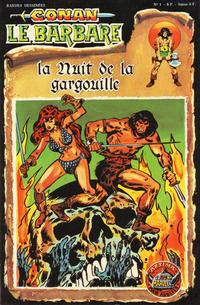 Cover Thumbnail for Conan le Barbare (Arédit-Artima, 1979 series) #1