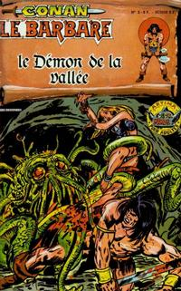 Cover Thumbnail for Conan le Barbare (Arédit-Artima, 1979 series) #2