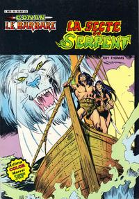 Cover Thumbnail for Conan le Barbare (Arédit-Artima, 1979 series) #10