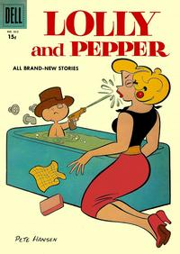 Cover Thumbnail for Four Color (Dell, 1942 series) #832 - Lolly and Pepper