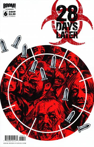Cover for 28 Days Later (Boom! Studios, 2009 series) #6 [Cover A]