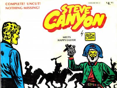 Cover for Steve Canyon (Comic Art Publishing, 1977 series) #2