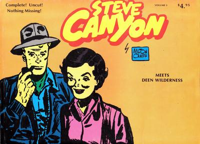 Cover for Steve Canyon (Comic Art Publishing, 1977 series) #3