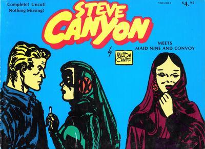 Cover for Steve Canyon (Comic Art Publishing, 1977 series) #4