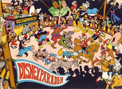Cover for Disneyparaden (Hjemmet / Egmont, 1969 series)