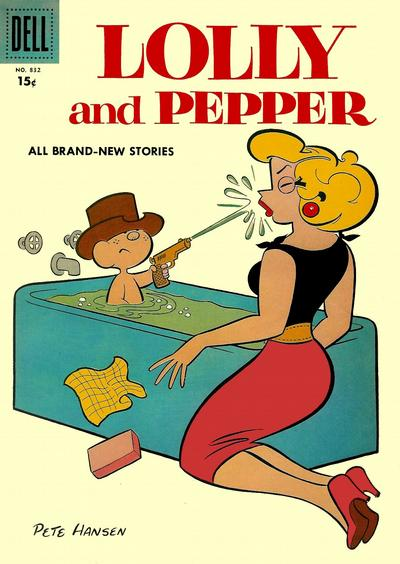 Cover for Four Color (Dell, 1942 series) #832 - Lolly and Pepper