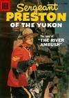 Cover for Sergeant Preston of the Yukon (Dell, 1952 series) #23
