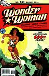 Cover for Wonder Woman (DC, 2006 series) #600 [Adam Hughes Variant]