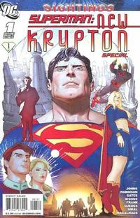 Cover Thumbnail for Superman: New Krypton Special (DC, 2008 series) #1 [Renato Guedes / Wilson Magalhaes Cover]