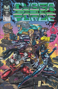 Cover Thumbnail for Cyberforce (Image, 1992 series) #1