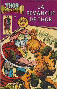 Cover Thumbnail for Thor le fils d'Odin (Arédit-Artima, 1979 series) #5