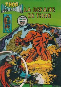 Cover Thumbnail for Thor le fils d'Odin (Arédit-Artima, 1979 series) #8