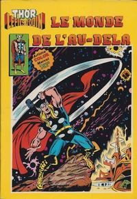 Cover Thumbnail for Thor le fils d'Odin (Arédit-Artima, 1979 series) #12