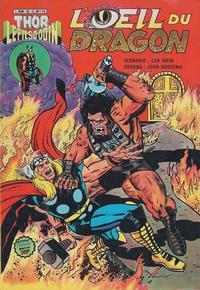 Cover Thumbnail for Thor le fils d'Odin (Arédit-Artima, 1979 series) #20