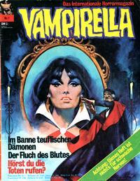 Cover Thumbnail for Vampirella (Pabel Verlag, 1973 series) #1