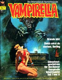 Cover Thumbnail for Vampirella (Pabel Verlag, 1973 series) #7
