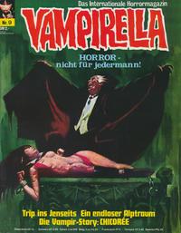 Cover Thumbnail for Vampirella (Pabel Verlag, 1973 series) #9