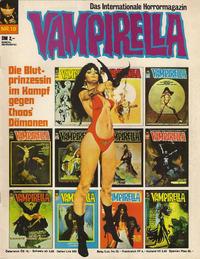 Cover Thumbnail for Vampirella (Pabel Verlag, 1973 series) #10