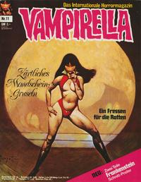 Cover Thumbnail for Vampirella (Pabel Verlag, 1973 series) #11