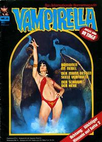 Cover Thumbnail for Vampirella (Pabel Verlag, 1973 series) #15