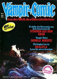 Cover Thumbnail for Vampir-Comic (Pabel Verlag, 1974 series) #3
