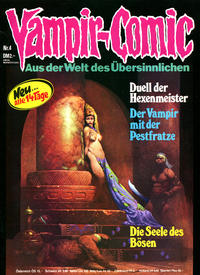 Cover Thumbnail for Vampir-Comic (Pabel Verlag, 1974 series) #4