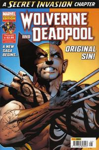 Cover Thumbnail for Wolverine and Deadpool (Panini UK, 2010 series) #8