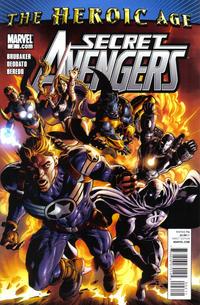 Cover Thumbnail for Secret Avengers (Marvel, 2010 series) #2 [Deodato cover]