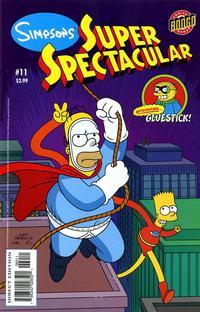 Cover Thumbnail for Bongo Comics Presents Simpsons Super Spectacular (Bongo, 2005 series) #11