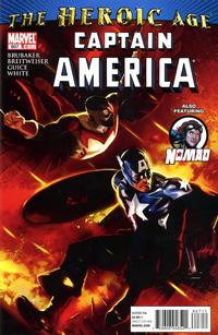 Cover Thumbnail for Captain America (Marvel, 2005 series) #607
