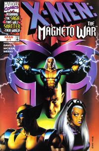 Cover Thumbnail for X-Men: Magneto War (Marvel, 1999 series) #1 [Another Universe Variant Cover]