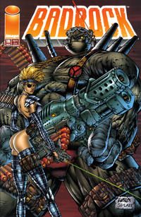 Cover Thumbnail for Badrock (Image, 1995 series) #1 [Stephen Platt Cover]