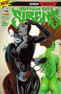 Cover Thumbnail for Gotham City Sirens (Panini Deutschland, 2010 series) #1 - Vereint
