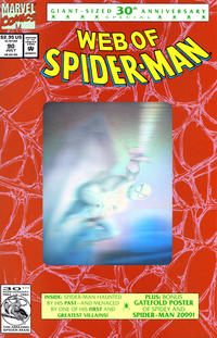 Cover Thumbnail for Web of Spider-Man (Marvel, 1985 series) #90 [Direct]