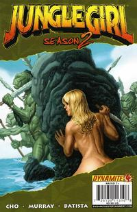 Cover Thumbnail for Jungle Girl Season 2 (Dynamite Entertainment, 2008 series) #4 [Frank Cho Cover]