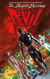 Cover Thumbnail for Death-Defying 'Devil (Dynamite Entertainment, 2008 series) #4 [Alex Ross Cover]