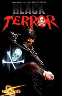Cover Thumbnail for Black Terror (Dynamite Entertainment, 2008 series) #9 [Alex Ross Cover]