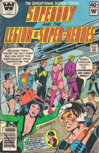 Cover Thumbnail for Superboy & the Legion of Super-Heroes (DC, 1977 series) #257 [Whitman cover]