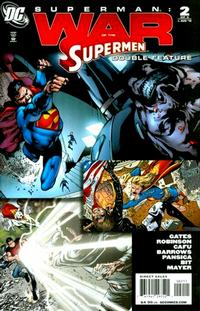 Cover Thumbnail for War of the Supermen Double Feature (DC, 2010 series) #2